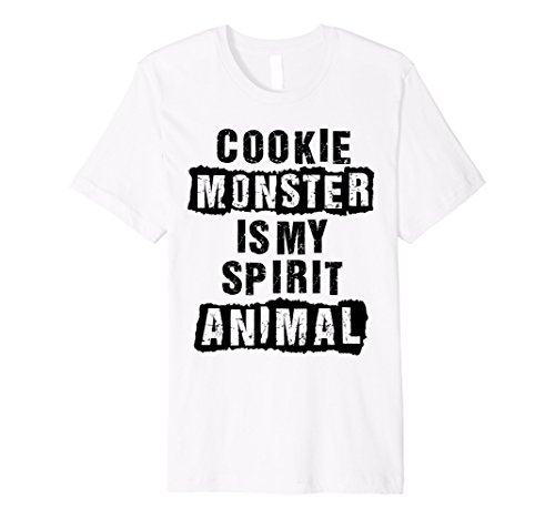 Cookie Monster is my spirit animal, funny t-shirt