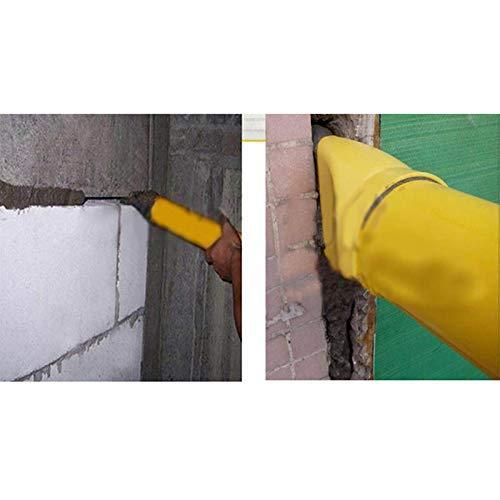 Wqeew Mortier Pointage Jointure Pulv/érisateur Applicateur Outil pour Ciment Citron Vert avec 4 Embouts