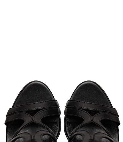 Glattleder Lei Nadja Poi Stiletto Schwarz Riemchen Schuhe Damen Pumps OR8Ovq