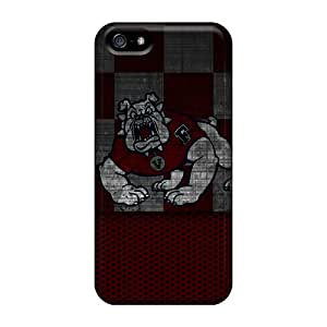 Durable Cases For The Iphone 5/5s- Eco-friendly Retail Packaging(fresno State Bulldog)
