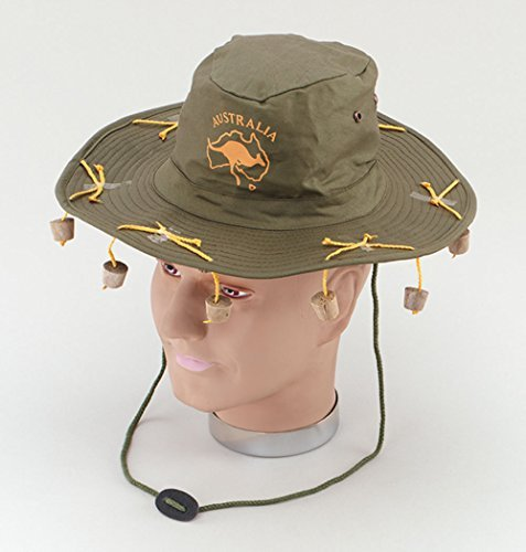 Australian Hat with corks by B&S (Australian Hat With Corks)