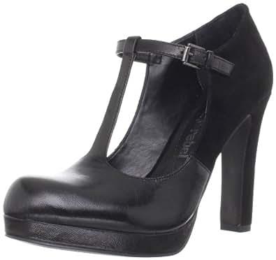 Luxury Rebel Women's Odette Platform Pump,Black,36.5 EU/6.5 M US