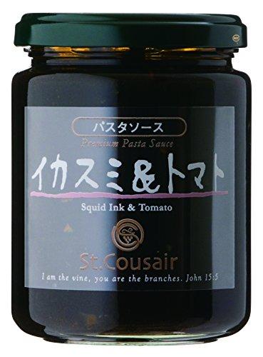Sankuzeru pasta sauce squid ink & tomatoes 220g