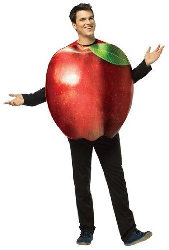 Rasta Imposta Apple Adult Costume,Multicolored,One -