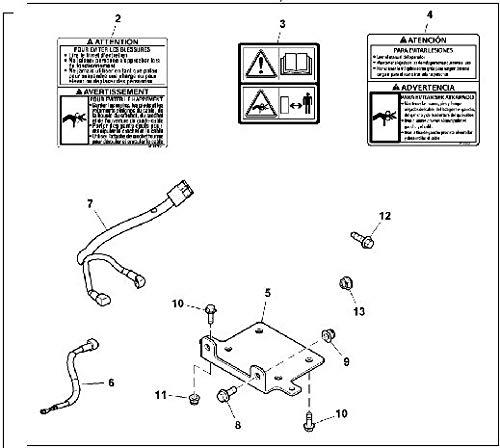 John Deere Original Equipment Winch Kit #BM26246