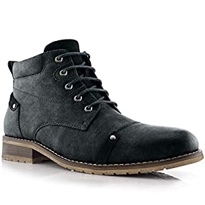 Ferro Aldo Colin MFA806033 Men's Stylish Mid Top Boots for Work Or Casual Wear
