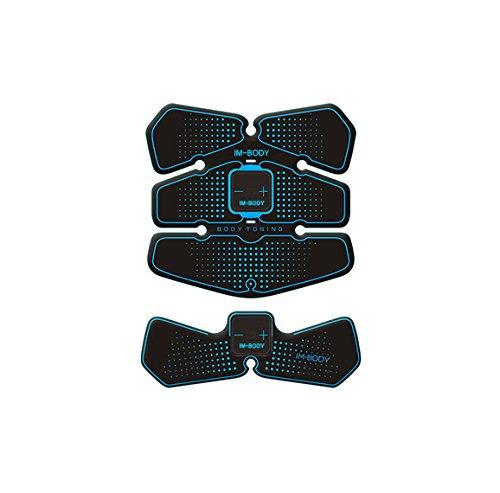 EMS筋トレ フィットネスマシン ダイエット 腹筋 振動マシン 自動的に筋肉鍛錬 マシーン 筋肉刺激 マッサージ スポーツ 健康機械 B075W6L9RS USB*2+Cable*2 USB*2+Cable*2