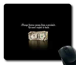 Funny Money Easter Thanksgiving Personlized Masterpiece Limited Design Oblong Mouse Pad by Cases & Mousepads