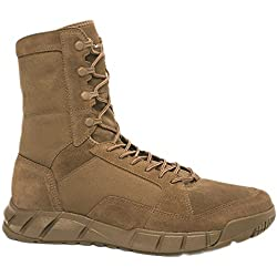 Oakley Mens Light Assault 2 Boots, Coyote, 10
