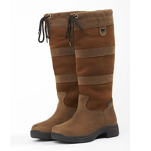 Dublin River Tall Boots - Brown, 8