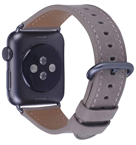 Gray Black Leather - 7