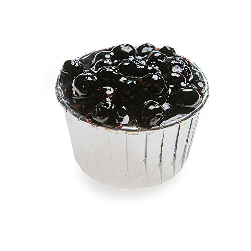 Pleated Baking Cups - 2.1 oz Baking Cups - Muffins, Cupcakes, Mini Snacks - Silver Metallic - Disposable - 200ct Box - Restaurantware ()