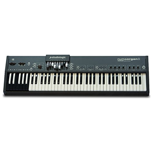 Studiologic NUMA-ORGAN-2 73-Key Integrated Digital Organ with Reversed Octave Midi Controller (Two Organs)