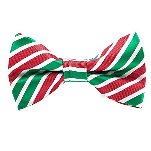 (Christmas Bowtie Mens Bow Tie Adjustable Bowties Polyester Bow Ties for Men ¡)