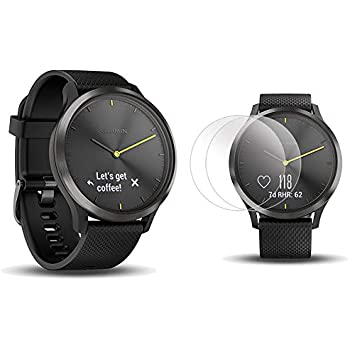 Amazon.com: Garmin vívomove HR, Hybrid Smartwatch for Men ...
