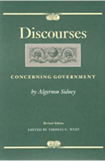 discourses concerning government liberty fund studies in political theory