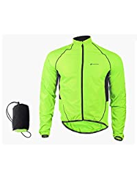 LightInTheBox ® Cycling Jacket Men's Long Sleeve Bike Waterproof/Windproof/Front Zipper/WearableJacket/Windbreakers/Raincoat/Poncho/