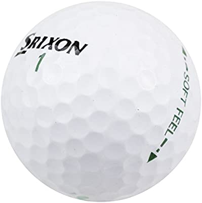 Srixon Soft Feel de Pelota de Golf Unisex, Color Blanco, Talla ...