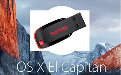 Mac OS X Boot Install Disk El Capitan USB 8GB