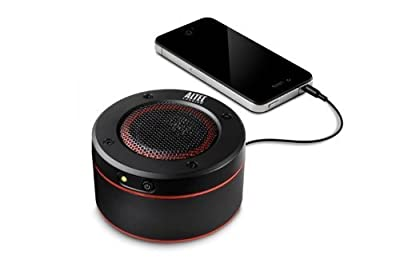 Altec Lansing IMT228 OrbitM Ultra Portable Speakers With Carrying Case And Clip