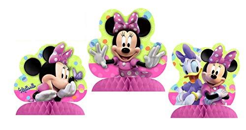 Minnie Mouse Bow-tique 3 Mini-centerpieces -