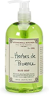 product image for Stonewall Kitchen Herbes De Provence Hand Soap, 16.9 Ounce
