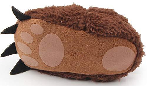 Cartton Cute Nouveau Adiasen Fille Velours Chaussures Semelle Antidérapant Blanc Souple En Bébé Chaud Paw né Garçon Infant wxwESqRtH