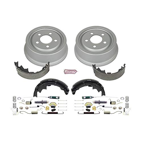 (Power Stop Rear KOE15374DK Daily Driver Drum and Shoe Kits)