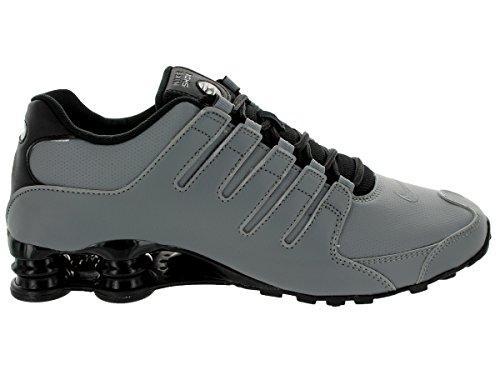 Nike Herren Shox NZ EU Laufschuhe Cool Grey / Metallic Silber / Schwarz