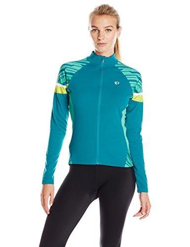 Pearl Izumi - Ride Women's Elite Thermal Jersey Large Deep Lake/Gumdrop [並行輸入品]   B06XFY5JX6