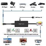 HDMI to RCA Converter Dingsun HDMI to AV Adapter