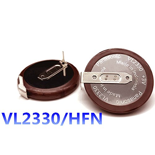 Horande New Replacement Key Battery VL2330/HFN Fit For Land Rover Range Rover Sport LR3 Discovery Smart Key Shell (LR002 BATT)