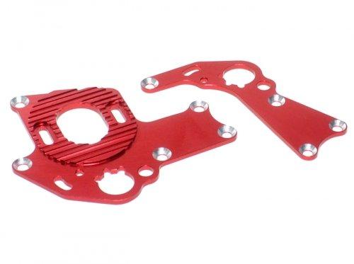 GPM Racing #SP2038R Aluminum Motor Mount 1 Set Red for HPI Sprint 2