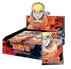 Naruto Collectible Trading Card Game Revenge & Rebirth 1st Edition Booster Bo...