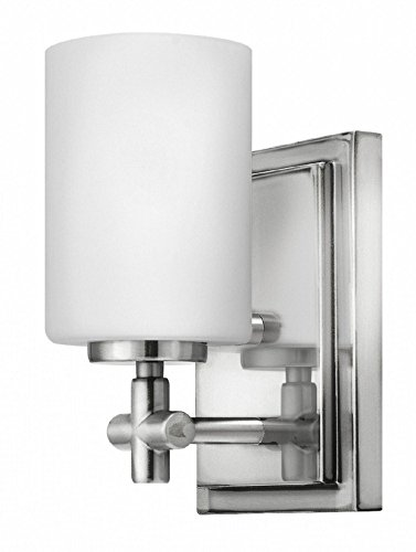 Hinkley 57550PN Transitional One Light Bath from Laurel collection in Chrome, Pol. (Hinkley Chrome Sconce)