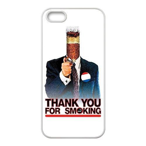 L4N30 Thank You for Smoking Haute Résolution Affiche H7J1SN coque iPhone 5 5s cellulaire cas de téléphone couvercle coque blanche KW1EAW2UF