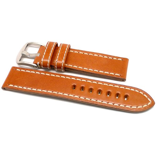 DaLuca OEM Style Leather Watch Strap - Tan : 20mm