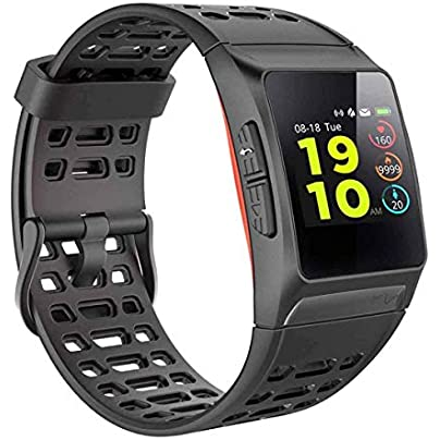YSCYLY Fitness Tracker GPS Smart Band Wristband Dynamic Heart Rate Monitoring 1 3 inch Large Color Screen Meters Waterproof Watch Estimated Price £98.99 -