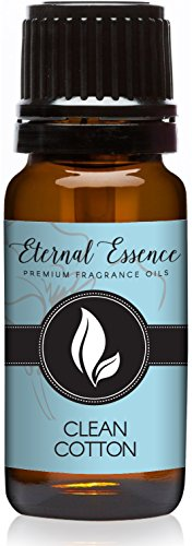 Eternal Essence Oils Clean Cotton Premium Grade Fragrance Oil - 10ml - Scented Oil (Best Clean Fresh Smelling Perfume)
