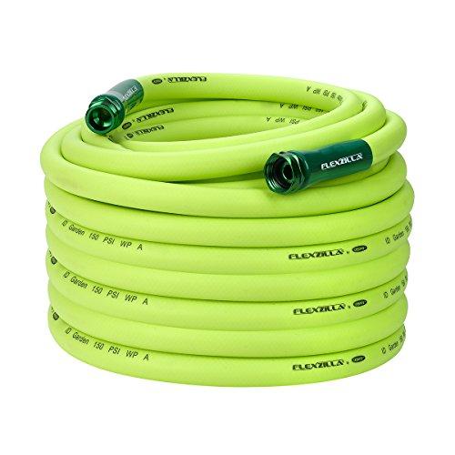 Flexzilla Garden Hose, 3/4 in. x 100 ft., Heavy Duty, Lightweight, Drinking Water Safe – HFZG6100YW