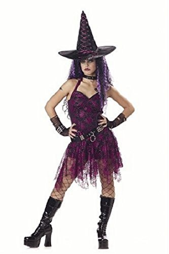 Goth Rockin' Witch Adult Medium