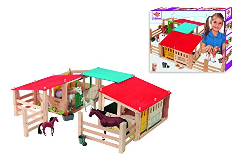 Eichhorn - 100002517 - Jeu De Construction - Ecuries En Bois by Eichhorn