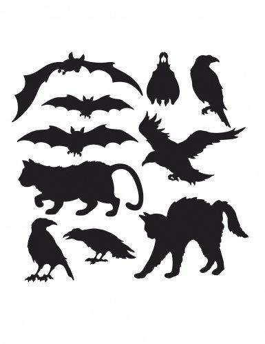 Halloween Silhouettes 10pk -