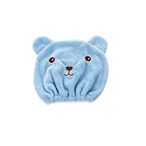 Baño de dibujos animados de animales encantadores Absorbente fuerte Cabello seco Secador rápido Casquillo de ducha: Amazon.es: Salud y cuidado personal