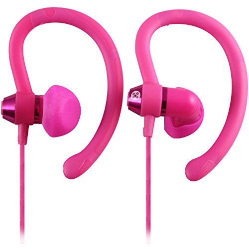 Moki ACC-HPS90PK 90 Degree Sports Earphones, Pink