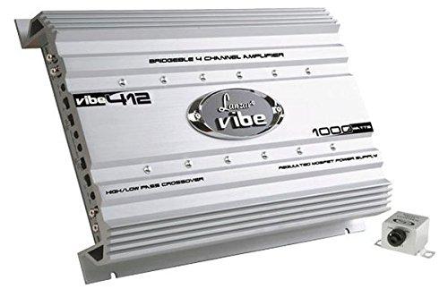 Lanzar VIBE412 1000 Watt 4 Channel Mosfet Amplifier