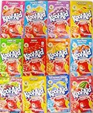 Kool Aid Variety 48 Pack-12 Different Flavors (Flavor Aid)