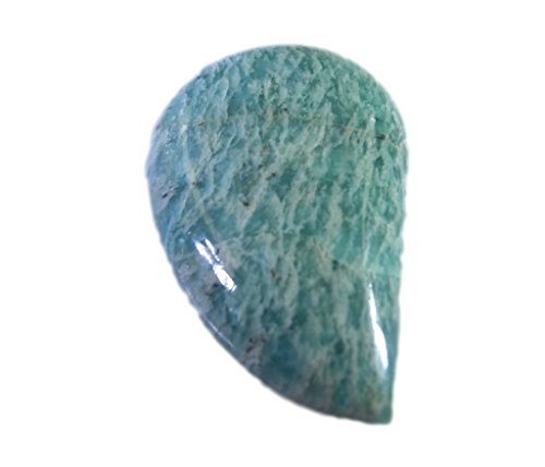 pierre lâche amazonite cabochon fantaisie 1 pc 17x27 mm stcbamz-1037