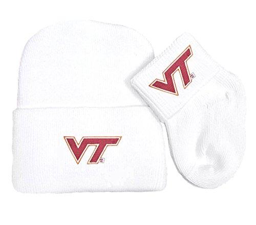 Future Tailgater Virginia Tech Hokies Newborn Baby Knit Cap