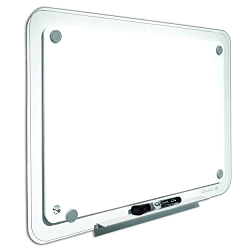 (Quartet TM4929 iQTotal Erase Board, 49 x 32, White, Clear Frame)